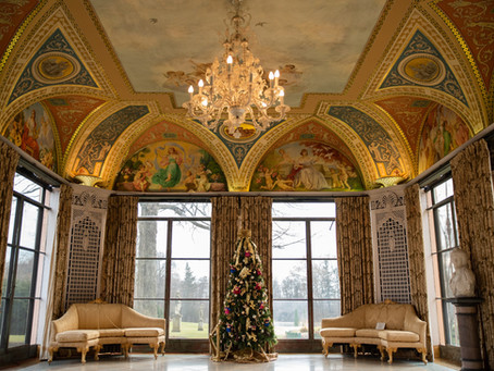 Vernon Hills Corporate Event Photographer   Cuneo Mansion   Festival of Trees