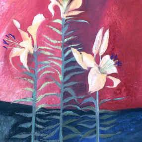Fire Lilies I