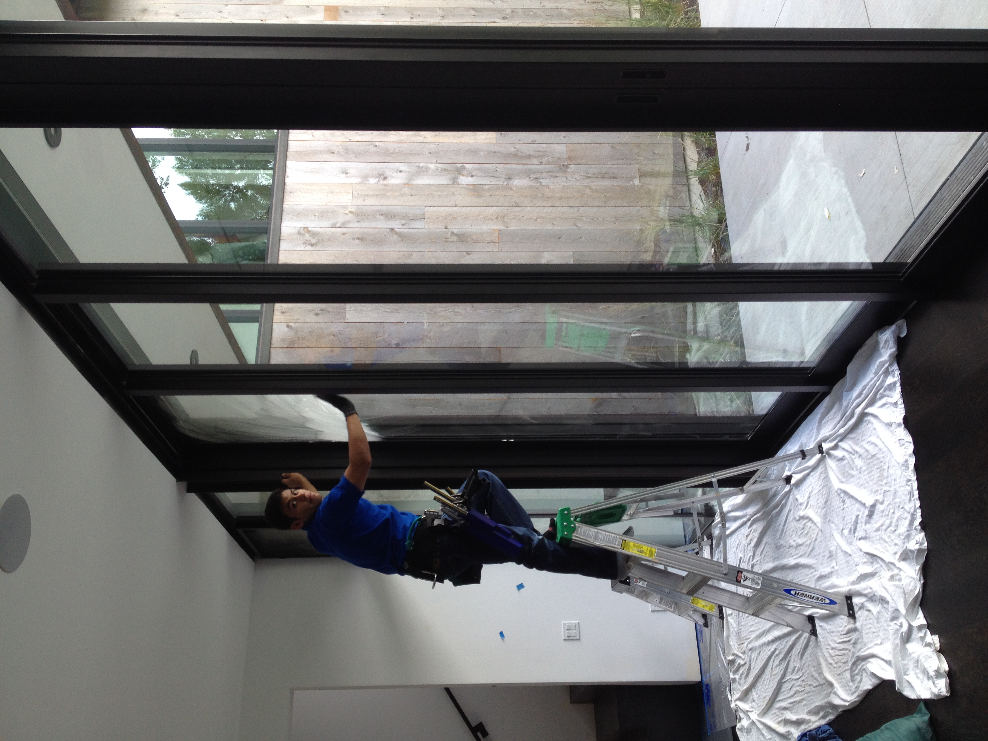 ketchum window cleaning - construction gimlet big windows
