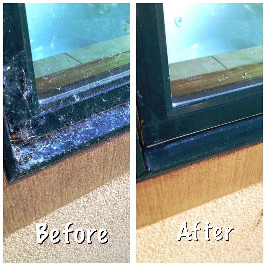 Ketchum Window Cleaning - before-after 2