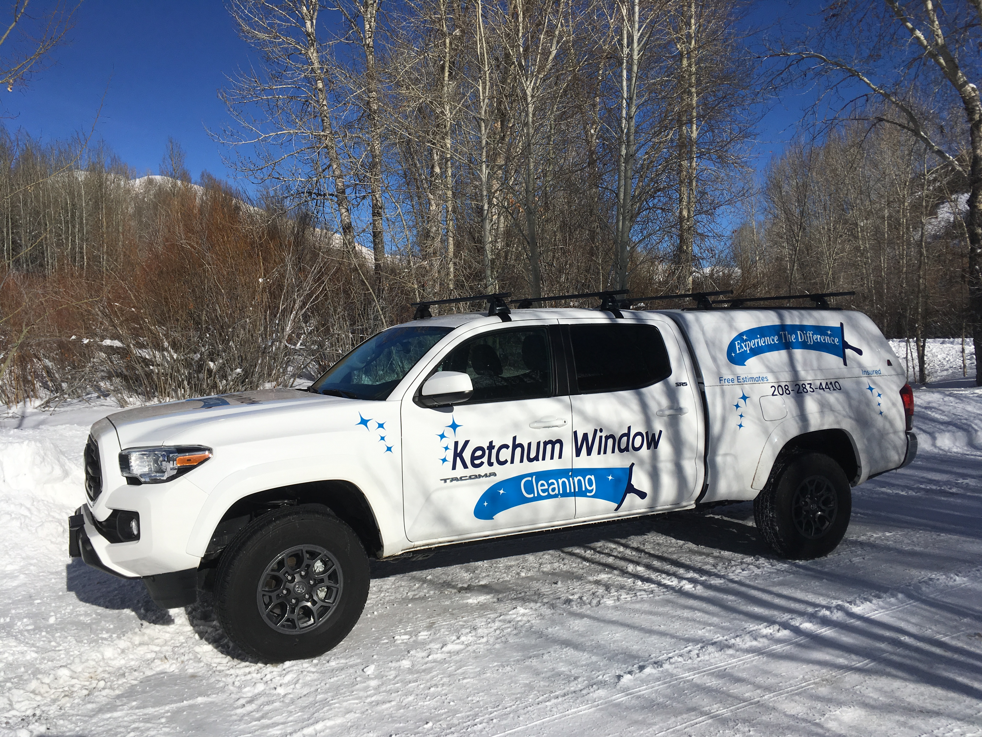 Ketchum Window Cleaning - Work truck