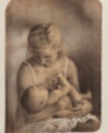 Symbiose, litografi av Yvonne Jeanette Karlsen