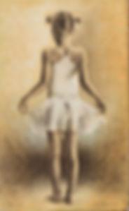 Ballerina II av Yvonne Jeanette Karlsen