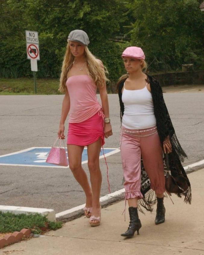 Paris Hilton and Nicole Riche