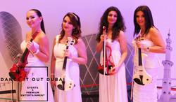 violin quartet dubai