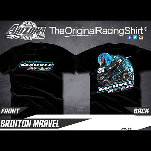 Back in Black T Shirt - Adult Black