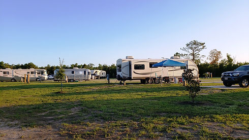 photo of full hookup RV camping site