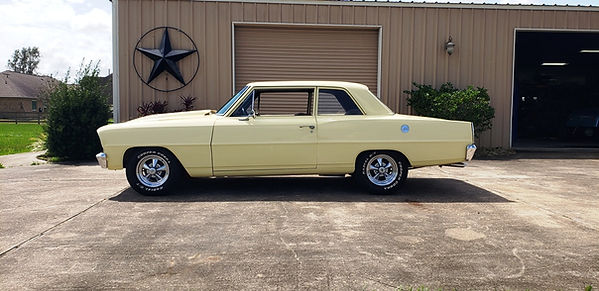 1966 Chevy Nova Willie Moore Streetrodding