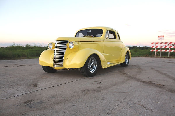 1938 Chevy Coupe Willie Moore Streetrodding