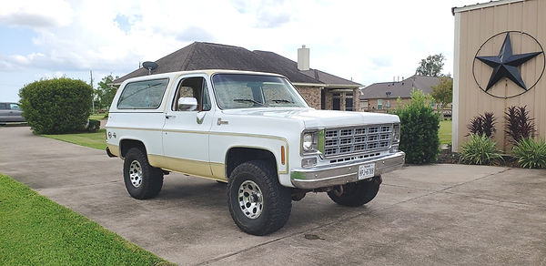 1977 Chevy Blazer Willie Moore Streetrodding