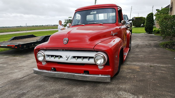 1955 Ford Truck Willie Moore Streetrodding