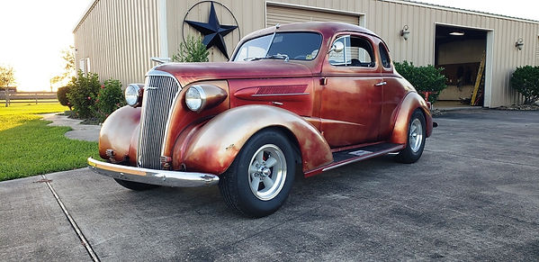 1937 Chevy Coupe Willie Moore Streetrodding