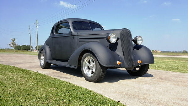 1936 Chevy Coupe Willie Moore Streetrodding