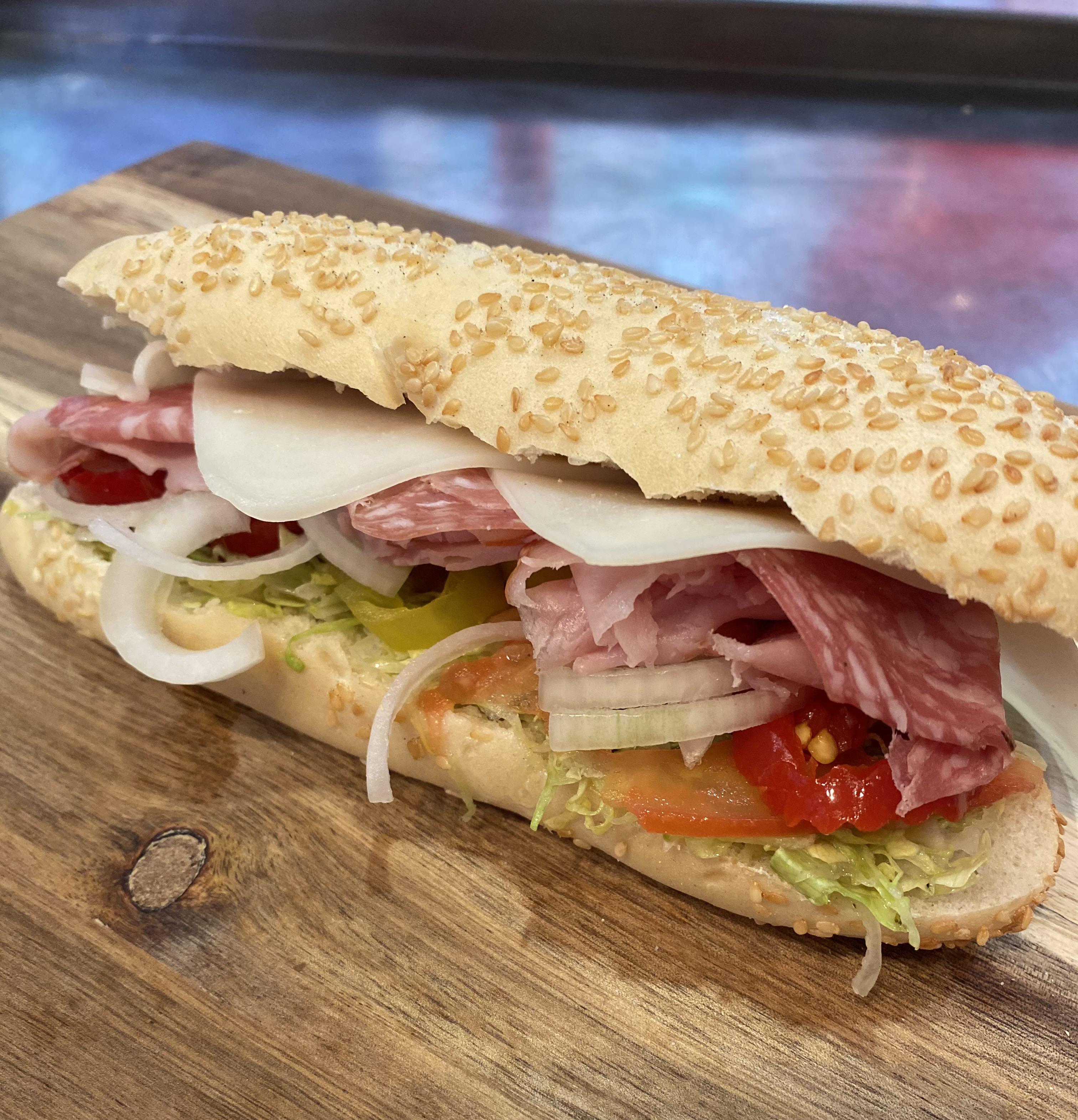 Italian Sub Ham Provolone Salami Sandwich
