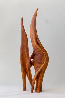 Communion - Plum Wood 25 in tall