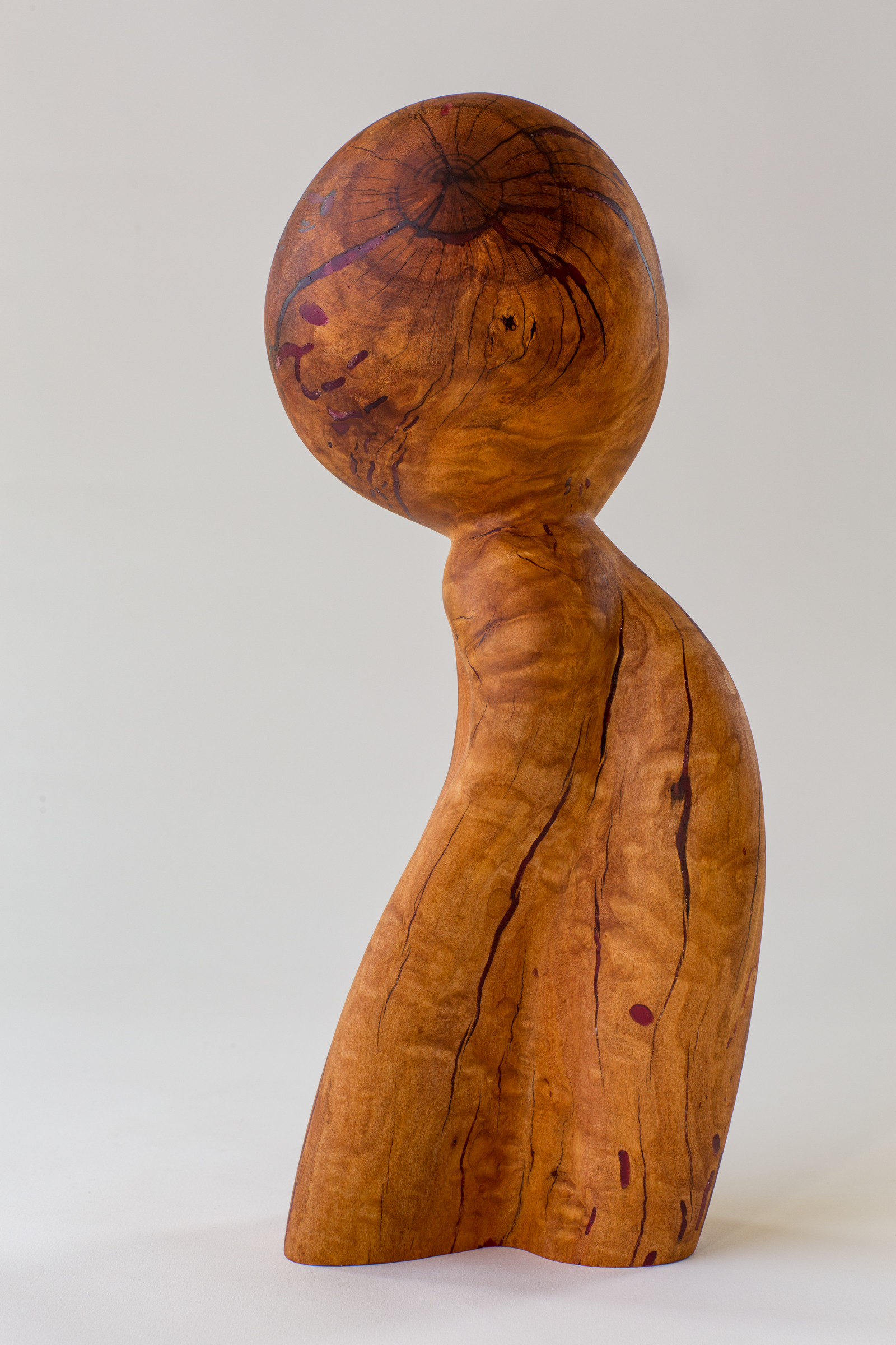 Child - Plum Wood 14 in tall