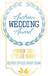 Austrian  Wedding Award Styled Shoot Wnner 2017