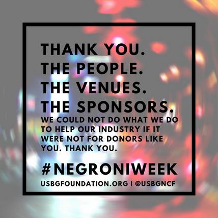 Negroni Week 2018