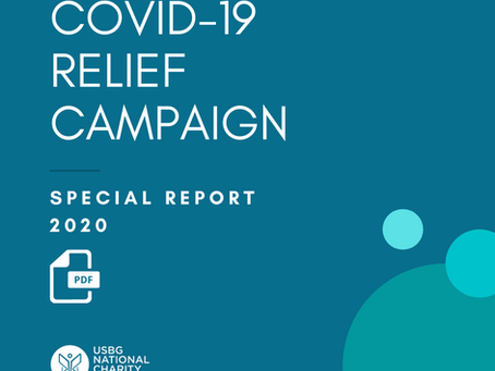 REPORT RELEASED FOR COVID-19 RELIEF CAMPAIGN