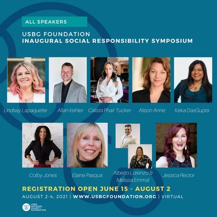 UPDATED: USBG Foundation's Social Responsibility Symposium