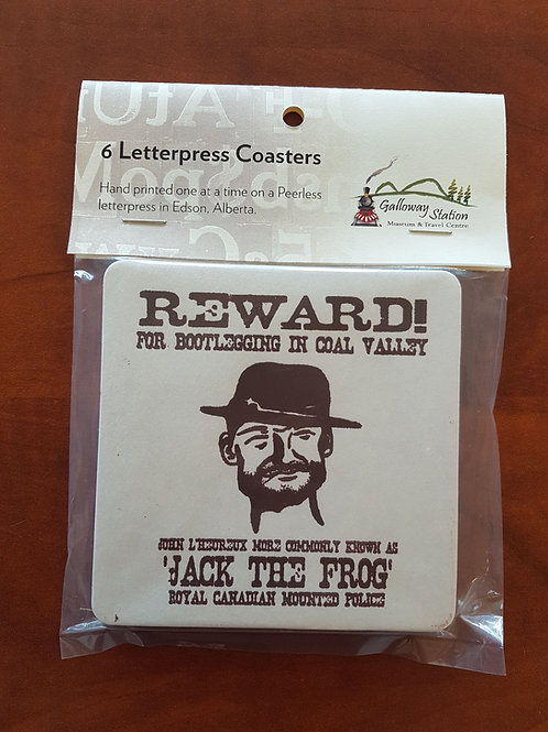 Jack the Frog Coasters