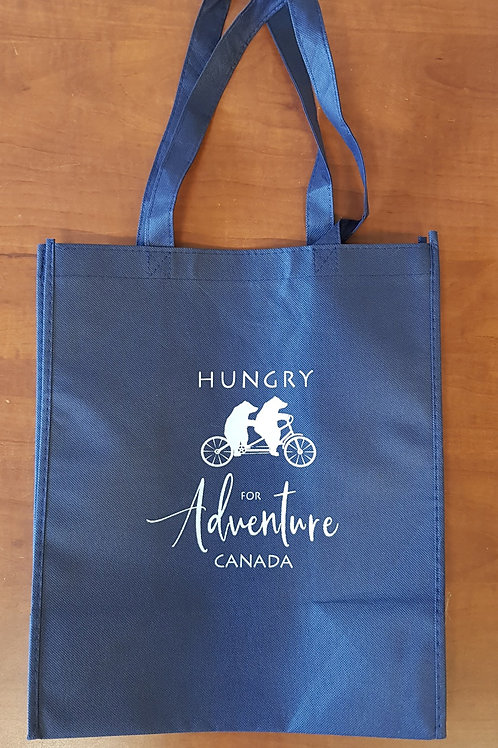 'Hungry for Adventure Canada' bag