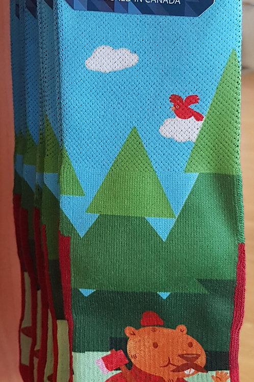 Lumberjack Beaver Socks
