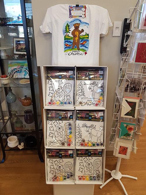 Kids T-shirt Painting Kits