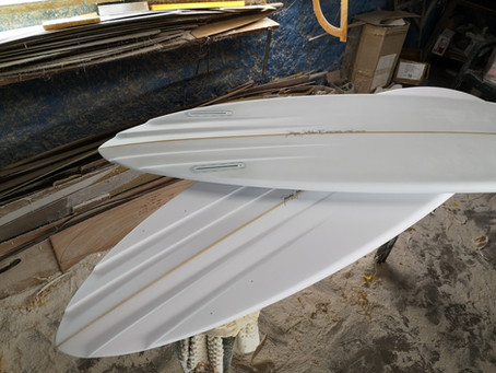 CHANNELED TWIN FINS