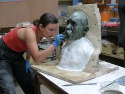 Moulage buste Rodin 2