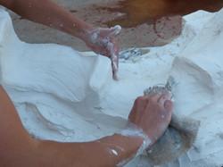 Moulage plâtre 2