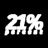 21 per cento