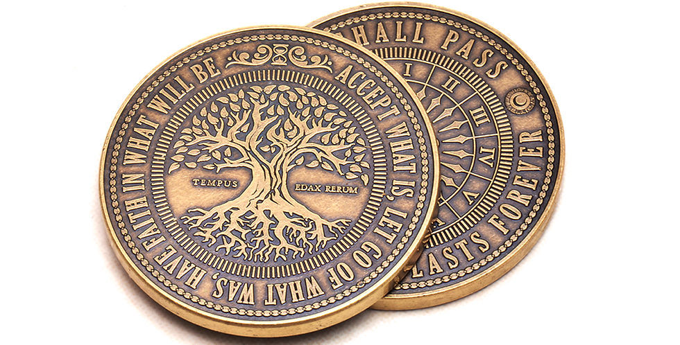 This too shall pass coin