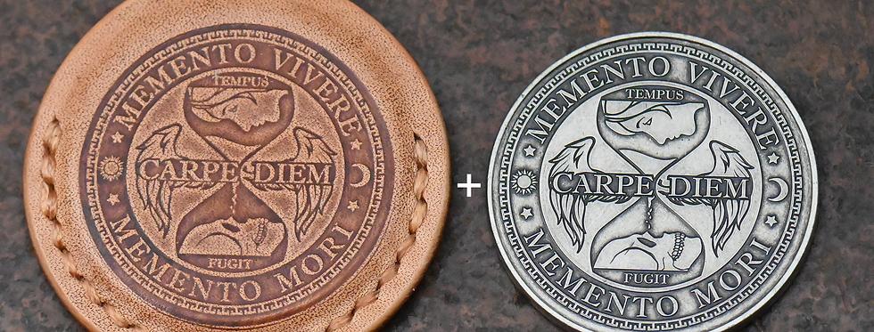 Carpe Diem Pouch + Carpe Diem Coin