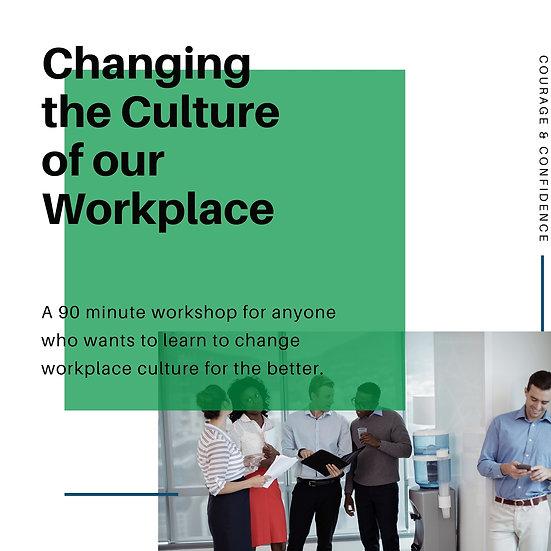 Workplace Culture Workshop