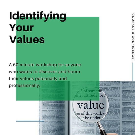 Values Workshop, Feb 23, 3 PM EST