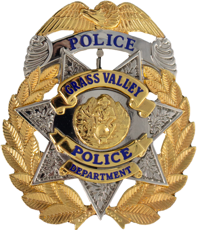 PTE-7334 Grass Valley PD CA Hat Badge.pn