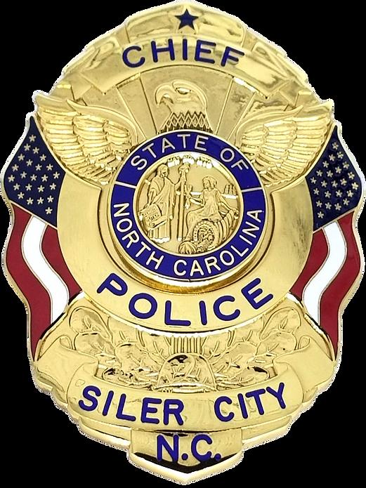 Siler City NC Badge.png