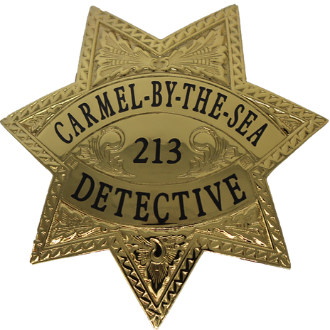 Carmel-By-The-Sea Detective CA Badge.png