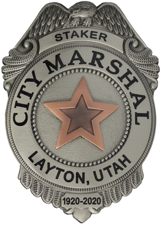 PTE-6852 Layton UT City Marshal Centenni