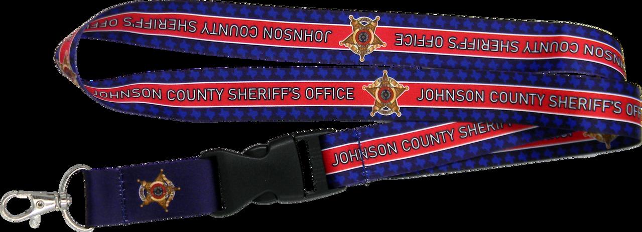 Johnson County Sheriffs Office Lanyard.p