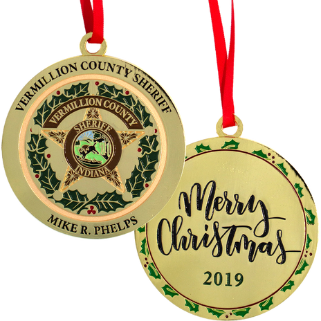 PTE-6869 Vermillion  County IN Christmas