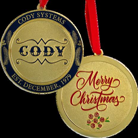 PTE-6894 Cody Systems PA Christmas Ornam