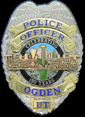 Ogden UT Officer Badge.png