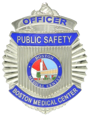 PTE-6683 Boston MA Medical Center Badge