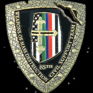 85th Civil Support Team Helmet PNG squar