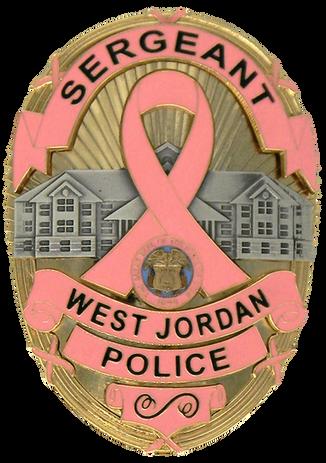 West Jordan UT PD Pink Badge.png