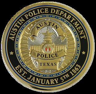 Austin TX PD Badge 1863 PNG.png