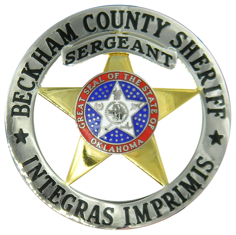 Beckham County Sheriff Badge.png