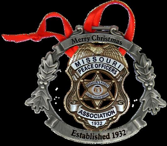 Missouri Police Officers Association Orn